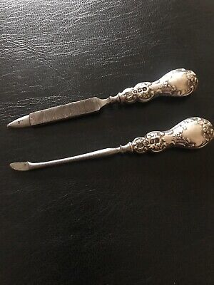 Silver Handled Manicure Items Birmingham 1913