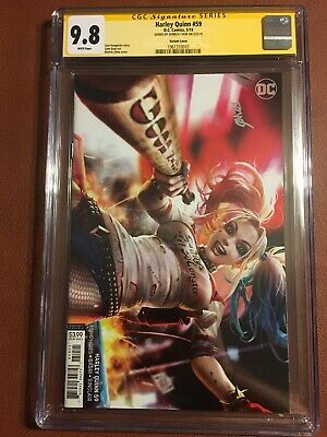 Harley Quinn #59 CGC 9.8 SS Signed By Derrick Chew