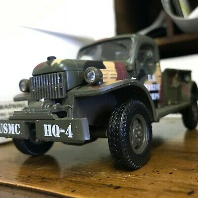 1946 Dodge Military Power Wagon Die cast 1:32 Scale Great Condition