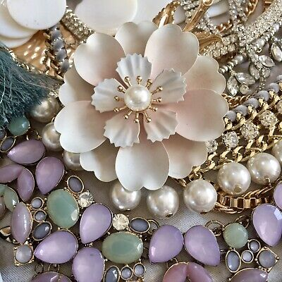 Job Lot Z Broken Jewellery Vintage Style Crafts Recycle Repair Upcycle DIY Gifts