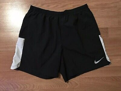 5a37a450f16d Men s Nike Flex Challenger Dri-Fit Black Running Shorts 856840 010 Xl