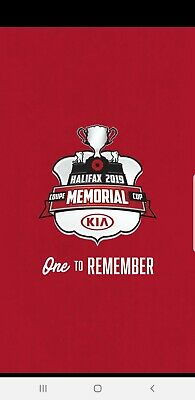 2 full package Memorial Cup tickets
