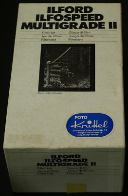Ilford Ilfospeed Multigrade II Filtersatz 11 Filter
