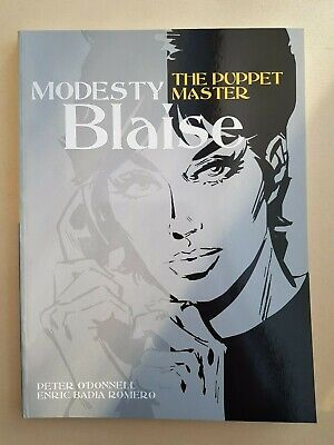 Modesty Blaise The Puppet Master Titan Books