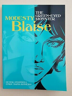 Modesty Blaise The Green-Eyed Monster Titan Books