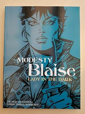 Modesty Blaise Lady In The Dark Titan Books