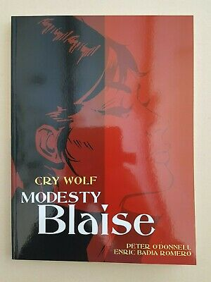 Modesty Blaise Cry Wolf Titan Books