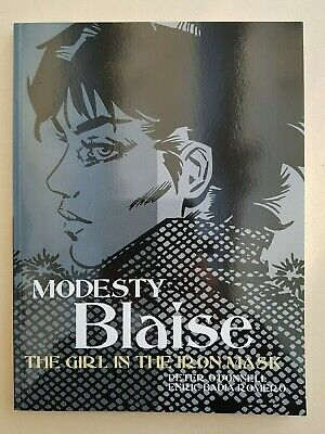 Modesty Blaise The Girl In The Iron Mask Titan Books