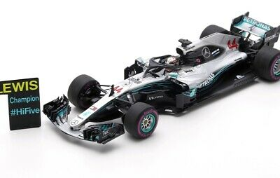 MERCEDES AMG #44 GP Mexico F1 W09 EQ Power+ Hamilton WC 2018  SPARK 1:43 S6067
