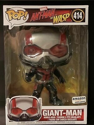 Funko Pop 10 Inch Giant Man #414 Marvel Ant-Man Amazon Exclusive Factory Sealed