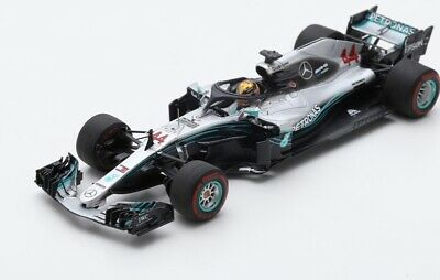 MERCEDES AMG Winner GP Abu Dhabi 2018 F1 W09 EQ Power+ Hamilton SPARK 1:43 S6068
