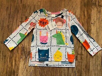 Brand new girls long sleeved t shirt from Next, age 12 - 18 months