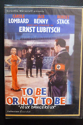 DVD guerre to be or not to be jeux dangereux neuf emballé 1942 carole lombard