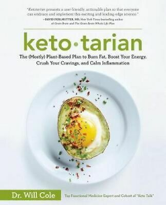 NEW Ketotarian By Will Cole Paperback Free Shipping