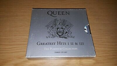 QUEEN - THE PLATINUM COLLECTION - GREATEST HITS I II III (51 TRK 3xCD)