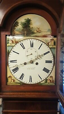 Antique Irish Longcase Grandfather Clock by James Given Newtownlimavady