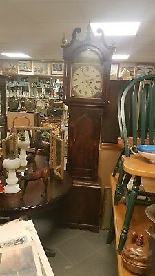 Antique Scottish  Longcase Grandfather Clock by Alexander Black Kirkaldy