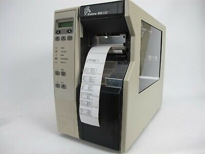 ZEBRA Z4M PLUS Barcode Printer 300dpi Ethernet Z4M00-3001