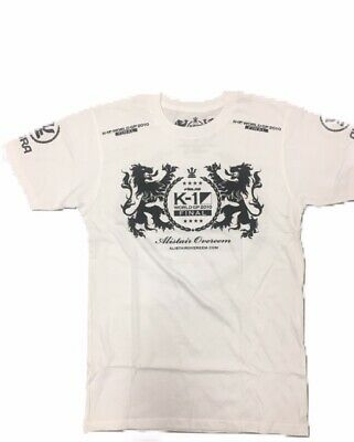 Alistair Overeem K-1 Walkout Premium Limited Edition White Tee