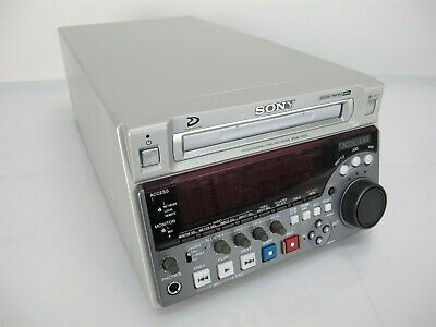 Sony PDW-1500 XDCAM Professional Disc Recorder Low 143 Hours!