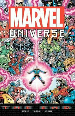 NEW Marvel Universe By Jim Starlin Paperback Free Shipping