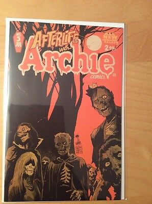Afterlife With Archie 5, Nm+ (9.4 - 9.6), Cover A, 1St Print, Potential Tv