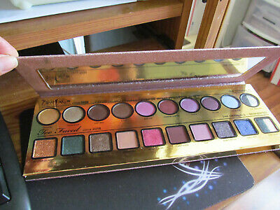 Too Faced then & now eyeshadow palette new full size small flaw authentic