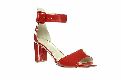 2b68c7009e5 Chinese Laundry Womens Rumor Red Patent Ankle Strap Heels Size 10 (175701)