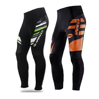 Bicycle Pants Men's Riding Bike Trousers with 4D Silica Pad Cycling Tights Wear