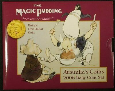 The Magic Pudding 2008 UNC Australian Baby Coin Set RAMint