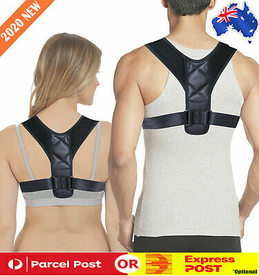 Posture Corrector Back Support Brace for Women Men Upper Back & Neck Pain Relief