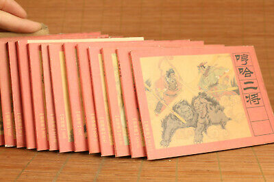 antique Books 15 piece Legend of Deification picture-story book collection