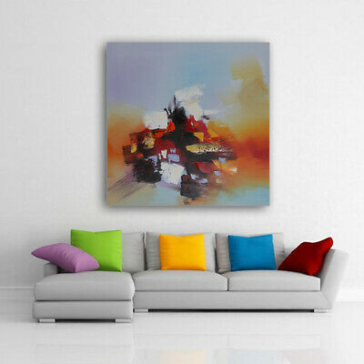 Hand Painted Oil Painting On Canvas, Original Wall Decor Art Piece, Framed