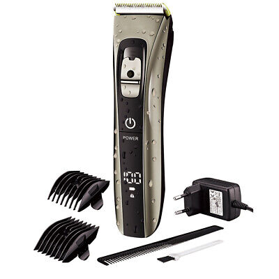 Men's Rechargeable Electric Shaver Razor Beard Hair Clipper Trimmer Grooming Kit