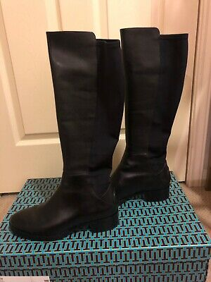 defe15c9388f TORY BURCH CAITLIN Stretch Boot - Black - Size 9.5 -  159.99