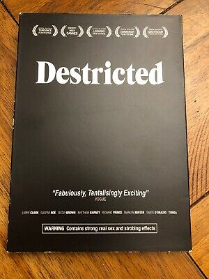 Destricted DVD RARE OOP! Short Films Larry Clark w/ Slipcover! Free Shipping!