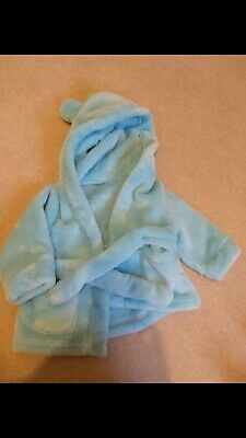 0-6 Month Blue Dressing Gown