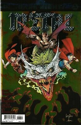 Dark Nights Metal #6 DC Comics Batman Who Laughs Foil Cover 2018