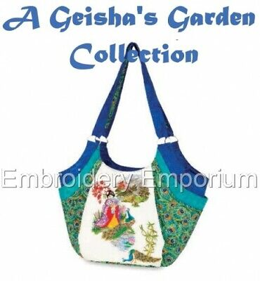 A Geisha's Garden Collection - Machine Embroidery Designs On Cd Or Usb