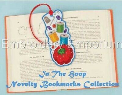 In The Hoop Novelty Bookmark Collection - Machine Embroidery Designs On Cd/Usb