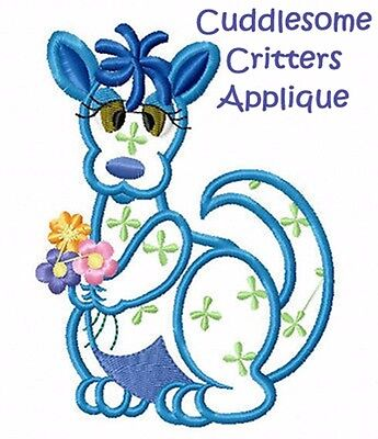 Cuddlesome Critters Applique - Machine Embroidery Designs On Cd Or Usb