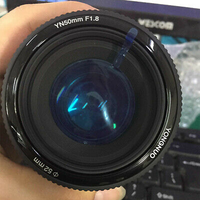 YONGNUO YN 50MM F1.8 Large Aperture Auto Focus Lens f Canon EF Mount EOS Camera