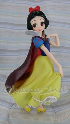 Disney Characters Crystalux Snow White Figure