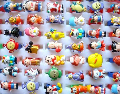 Wholesale jewelry 50 pcs Mixed Lovely Resin Children's open Rings RG42