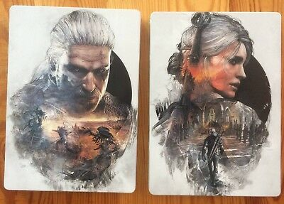 The Witcher 3 Wild Hunt Steelbook No Man's Land G1 Pc Dvd Collector's Edition