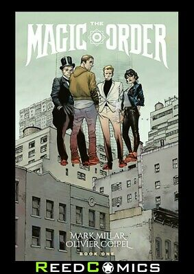MAGIC ORDER VOLUME 1 GRAPHIC NOVEL New Paperback Collects 6 Part Series