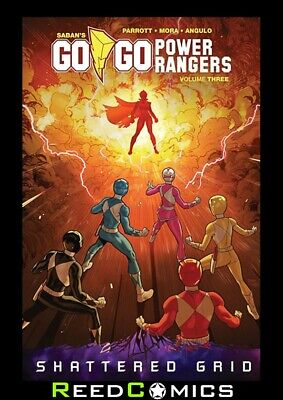 GO GO POWER RANGERS VOLUME 3 GRAPHIC NOVEL New Paperback Collects #9-12