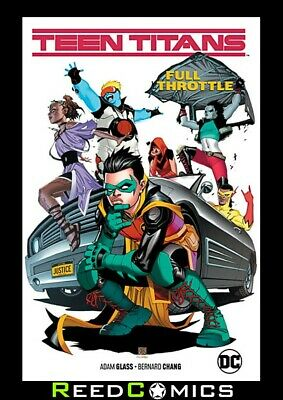 TEEN TITANS VOLUME 1 FULL THROTTLE GRAPHIC NOVEL Collects (2016) #20-24 + more