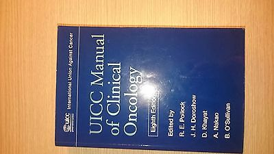 UICC Manual of Clinical Oncology - Ex Library Book, good