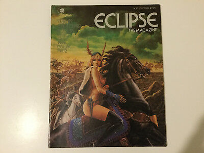 Eclipse the Magazine No. 1 May 1981 (Starlin, Englehart, Rogers, Russell)